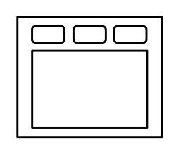 FrameLayoutのイメージ図
