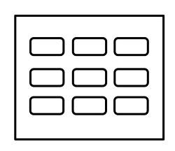 GridLayoutのイメージ図