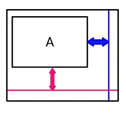 layout_constraintGuide_end属性の位置関係